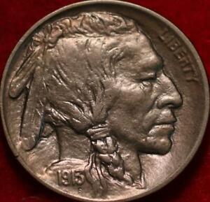 1913-D Type 1 Denver Mint  Buffalo Nickel