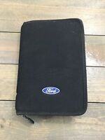2002 FORD TAURUS OWNER'S MANUAL 5/PC SET BLACK FORD ZIPPERED FACTORY CASE