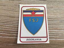 Panini Argentina 78 WC  1978 - NO. 366 Yugoslavia Shield Logo -  Rec