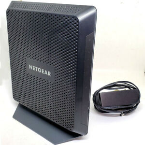 Netgear C7000-100NAS Nighthawk AC1900 960 Mbps Modem Router DOCSIS 3.0 Dual-Band