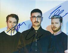 ALT-J Group Signed 8x10 Photo w/COA *An Awesome Wave* BREEZEBLOCKS #3