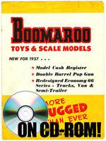 VINTAGE 1957 BOOMAROO AUSTRALIAN TIN TOY VEHICLE CATALOG ON CD-ROM HIGH QUALITY!