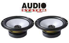 AUDIOSYSTEM AS650 By STEG COPPIA ALTOPARLANTI COASSIALI 120W 165mm MADE IN ITALY