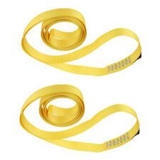 2x Rock Climbing Fall Protection Safety Nylon Webbing Strap Belt Sling 35Kn