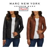 SALE! MSRP $189! Marc NY Andrew Marc Women's Ladies Leather Jacket VARIETY D14
