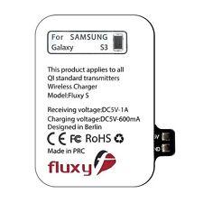 FluxPort Qi Wireless-Charging Receiver Ladeped für Samsung Galaxy S3