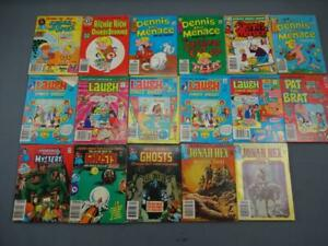 Vint Comics Digest Lot of 17 House Myestery Ghosts Jonah hex Laugh Dennis Menace