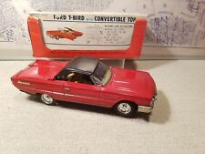 Bandai Ford Thunderbird 1965 Convertible in Box Battery Operated 10.5 inche