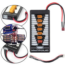 2-6S Charging Adapter Board XT60 Lipo Parallel Charger Balance XT60 Connects NEW