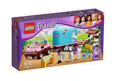 LEGO 3186 - Friends - Geländewagen mit Pferdeanhänger