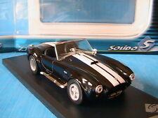 SHELBY AC COBRA 427 S-C 1965 SOLIDO 14311400 1/43 BLACK NOIRE S/C SCHWARZ