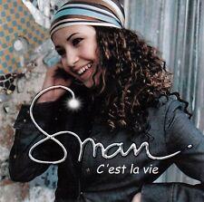 SMAN - C'EST LA VIE - CD SINGLE COMME NEUF PROMO CARDSLEEVE 1TITRE  2002