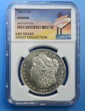 1883-O Morgan Dollar NGC Genuine Las Vegas Vault Collection Home of Binion NR