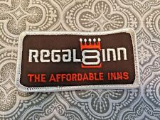"""Vintage Patch Regal 8 Inn New Condtion The Affordable Inns Movie Prop 4 x 2 """" #5"""
