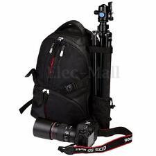 Nikon D7000 D750 D5 Shockproof DSLR Camera Lens Travel Outdoor Bag Backpack