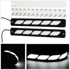 2xWhite DRL 5LED Car Daytime Running Lights Driving Bulbs Daylight 12V Fog Light