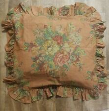 Ralph Lauren Maura Irish Cottage Floral Ruffled Euro Sham