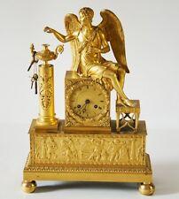 """Parigina Impero """"Angelo"""" bronzo dorato al mercurio - pendolo a filo, circa 1820"""