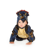 Baby Triceratops Dinosaur Suit Fancy Dress Costume Age 6 12 18 24 36 Month