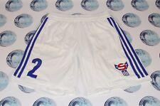 FAROE ISLANDS NATIONAL TEAM 2012 #2 FOOTBALL SOCCER SHORTS ADIDAS MEN 38