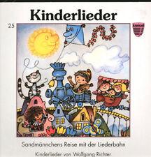 LP Kreisel 25 - Sandmännchens reise mit der Liederbahn