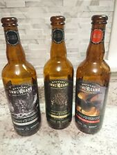 3 Game Of Thrones OMMEGANG Brewery Empty Beer Bottles Collectors Iron throne