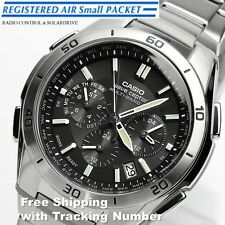 CASIO WAVE CEPTOR WVQ-M410DE-1A2JF Chronograph Solar Radio Men's Watch Japan F/S