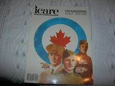 REVUE AVIATION  ICARE 1987  LES CANADIENS  TOME 1  1914 - 1918