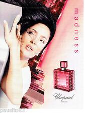 PUBLICITE ADVERTISING 056  2001   le parfum femme Madness Chopard