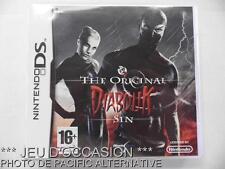 OCCASION: Jeu THE ORIGINAL DIABOLIK SIN nintendo DS game francais voleur action