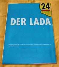 Lada Samara 1988 Prospekt Brochure Depliant Catalogue Prospetto