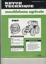 (3A)REVUE TECHNIQUE MACHINISME AGRICOLE TRACTEUR FIAT / JOHN DEERE / FORD