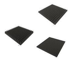 Musterpaket, Akustik Pyramiden Schaumstoff Dämmung,ca50 x 50 x 3cm,5cm,7cm