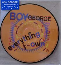 Everything I Own 7 Inch Analog Boy George LP Record