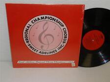 SWEET ADELINES Regional Chorus Championship 1968 LP SA-R-21 Female Barbershop