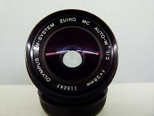 Olympus OM MC Auto-W 1:2 f=28mm Lens VERY RARE! EXCELLENT