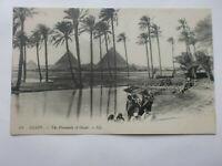 Egypt Vintage LL Postcard Pyramids Of Giza Levy Paris Gizah