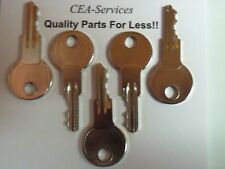 (5) Keys Fit Older Champion Graders Upright Lifts (Old) D2