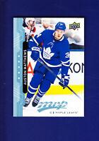 Auston Matthews 2018-19 Upper Deck UD MVP Hockey BLUE #205 (MINT) Maple Leafs