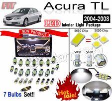 7 pcs Super Bright 5630 LED High Interior Dome Light Kit For Acura TL 2004-2008