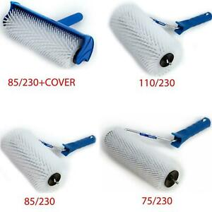 """Spiked Aeration Roller 230mm (9"""") Spikey, Self Levelling Screed, Flooring Tools"""