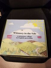 Wade Whimsey In The Vale Village Display Box and 10 Boxes Only No Figurines
