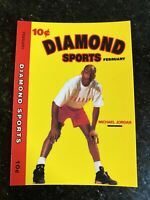 MICHAEL JORDAN 1990-91 Diamond Sports Promo Card Bulls HOF NMMT NBA Basketball