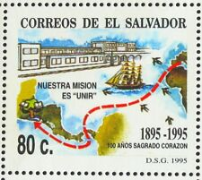 EL SALVADOR 1995 MNH SC 1402 100TH ANNIV SACRED HEART COLLEGE