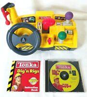 Vintage Tonka Dig n Rigs CD Rom Playset. Hasbro Interactive, Inc. 1999/2000