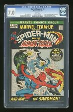 Marvel Team-Up #1 CGC 7.0 - Spider-Man & The Human Torch. KEY ISSUE!