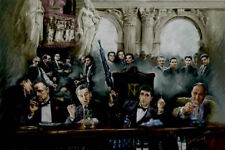 Gangsters At The Bar - Movie & Tv Gangster Collage Poster 24x36 - 51939