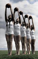 WW2 Photo Picture Young women League of German Girls Deutscher Mädel 1940 #249