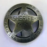 US  Sheriffstern Tombstone Western Marshal Cowboy Museumsreplikat