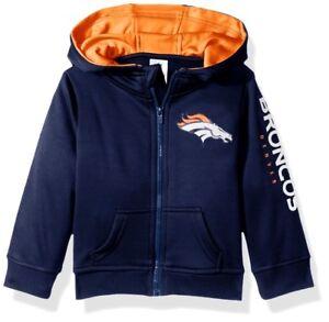 Denver Broncos Toddler Baby Boys HD Jacket Full Zip Hoody